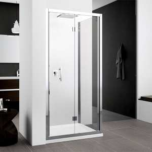 Novellini Zephyros S Bifold Shower Door 1000 Chrome Finish ZEPHYRS96 1K