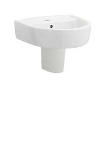 Premier Pick and Mix 420mm Basin and Semi Pedestal CPV003