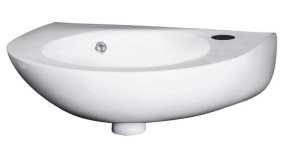 Nuie 350mm Wall Hung Basin NCU932