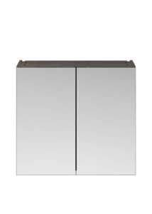 Premier Athena Grey Avola 800 Mirror Unit 50/50 OFF519