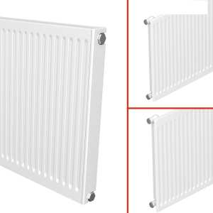 Quinn 3 IN 1 QRL Compact Roundtop Radiator 300mm High x 1000mm Wide (Single Convector)