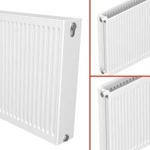 Quinn 3 IN 1 QRL Compact Roundtop Radiator 300mm High x 2000mm Wide (Double Convector)
