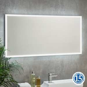 Riviera Coast 1200 x 600 Landscape LED Bathroom Mirror