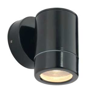 Saxby Odyssey Outdoor Non Automatic LED Wall Light ST5009BK