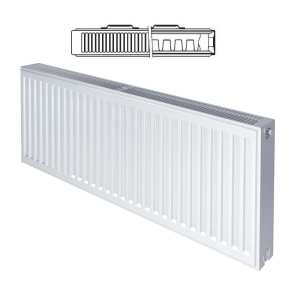 Stelrad Compact P+ Type 21 Double Panel Single Convector Radiator 450mm x 400mm White 143698