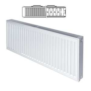 Stelrad Compact K2 Type 22 Double Panel Double Convector Radiator 300mm x 500mm White 143662