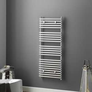 TowelRads Iridio 500 x 400mm Chrome Designer Towel Rail