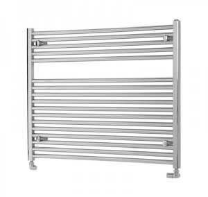 TowelRads Pisa 600 x 1000mm Chrome Horizontal Towel Rail
