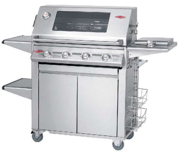 Beefeater S3000s Signature Series 4 Burner Cast Iron Bbq