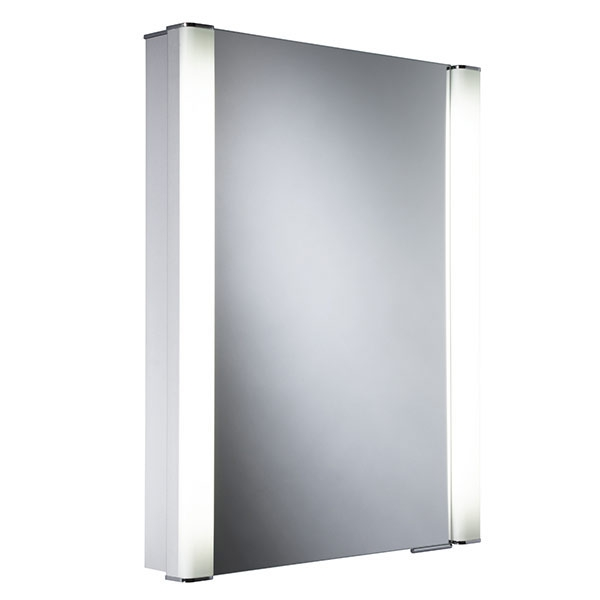 Roper Rhodes Illusion Single Glass Door Bathroom Mirror Cabinet