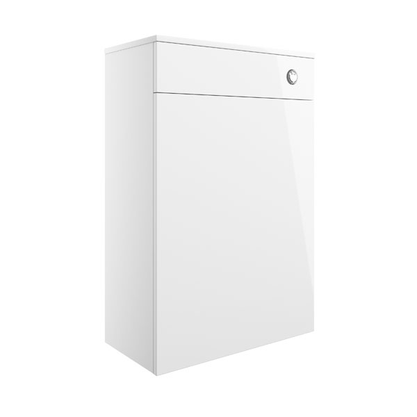 Moods Serena White Gloss 600mm Floor Standing WC Unit DIFT1200