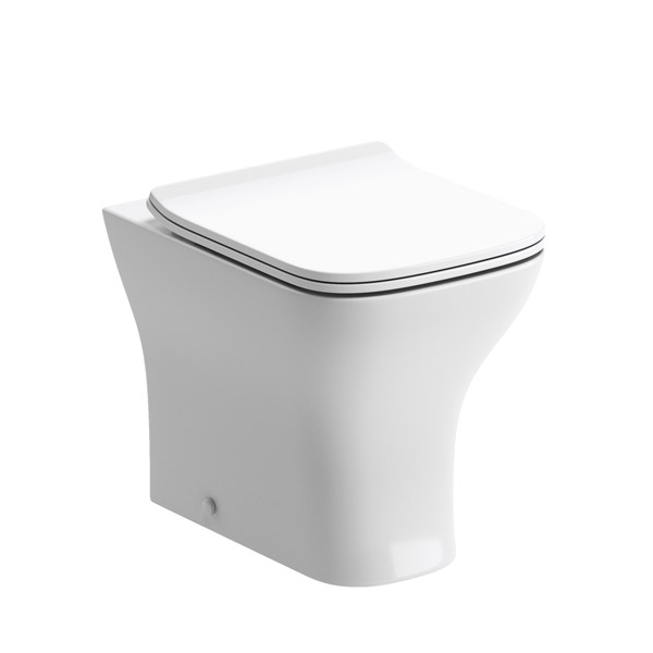 Moods Cedarwood Back To Wall WC Inc Soft Close Toilet Seat DIPTP0172