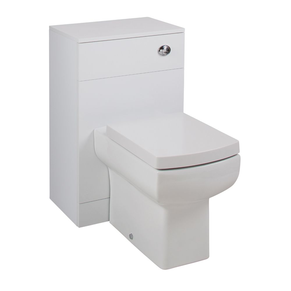 Cassellie Kass Gloss White Space Saving WC Unit Daisy Lou Set KASK003