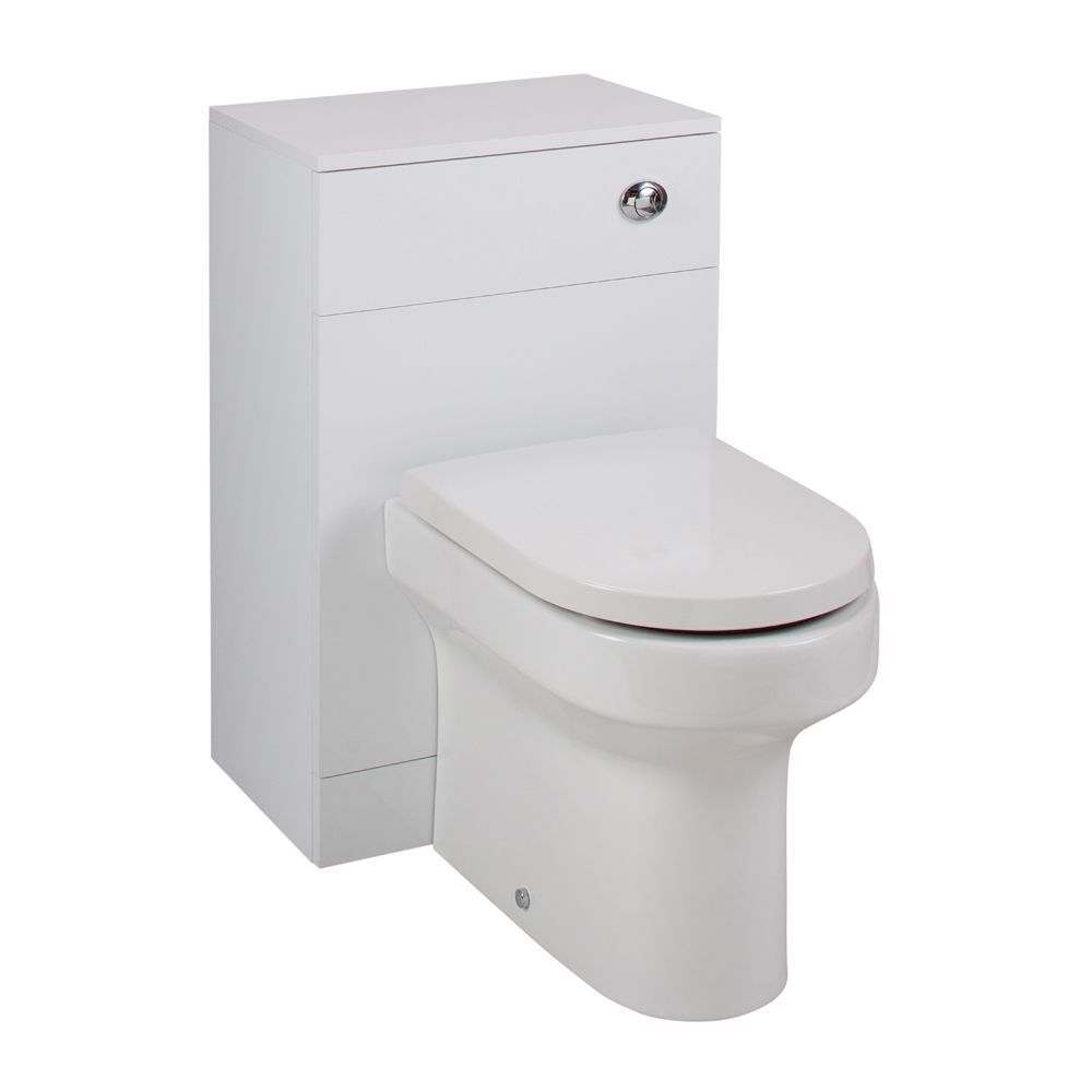 Cassellie Kass Gloss White WC Unit Montego Set KASK005