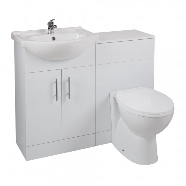 Cassellie Kass White Churwell Combination Unit LITHP05
