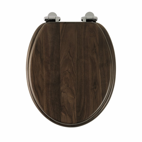 Roper Rhodes Traditional Solid Wood Toilet Seat Walnut Soft Close 8081AWSC