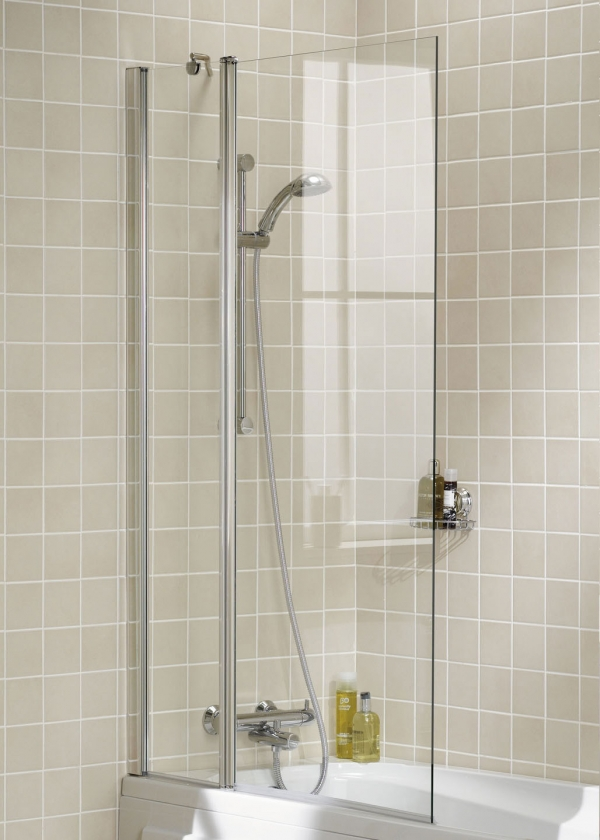 Lakes Square Bath Shower Screen 944mm - SS60-05