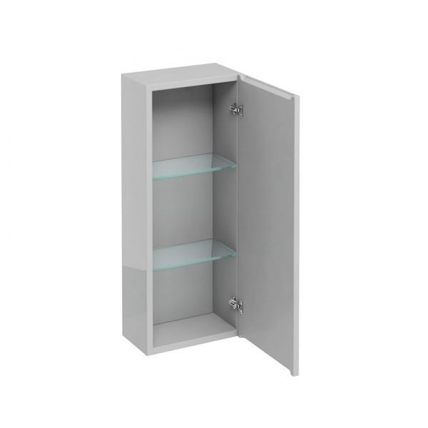 Britton D30 300 Light Grey Wall Hung Cabinet AC10L