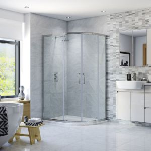 Moods RefleXion 6 Offset Quadrant 1000 x 800 Shower Enclosure DIEO1014