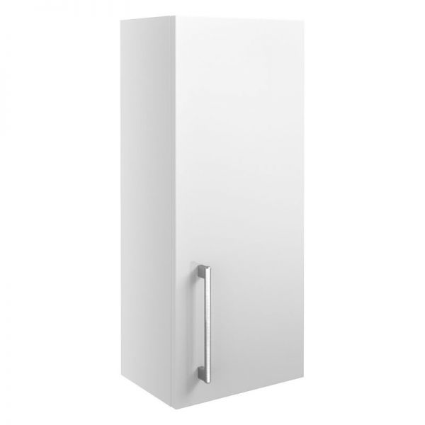 Moods Alba 300 White Gloss 1 Door Wall Mounted Storage Unit