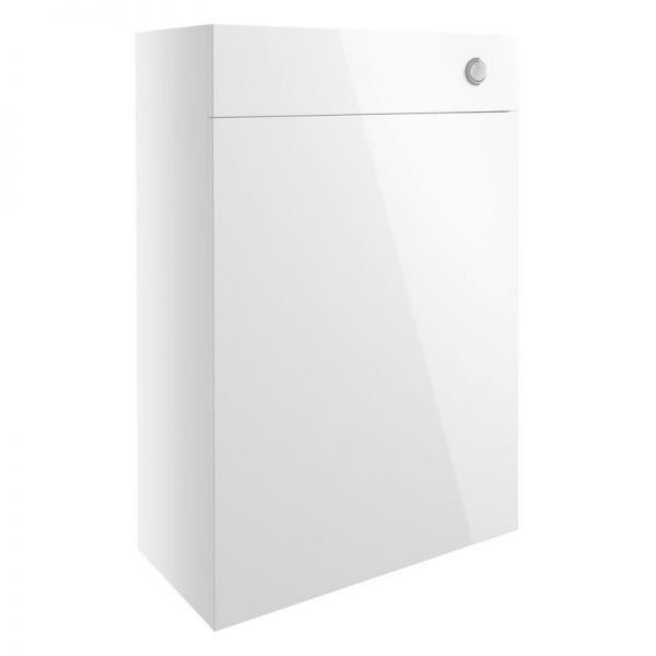 Moods Alba 600 White Gloss WC Toilet Unit