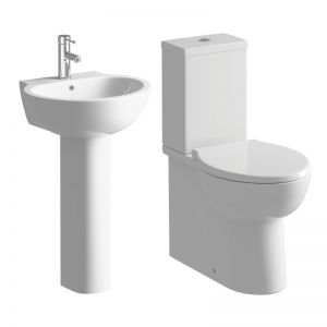 Moods Tarragon 4 Piece Pedestal Basin and Toilet Suite