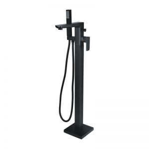 Moods Finissimo Black Floor Standing Bath Shower Mixer Tap DITB1056