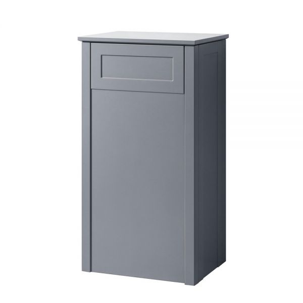 Hartland Turin 500 Grey Floor Standing Toilet Unit