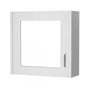 Cassellie Traditional White Ash 600 Mirrored Cabinet TPWAMC600