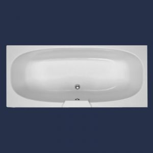 Moods Algarve 1700 x 750 Double Ended Bath with Wellness Spa System