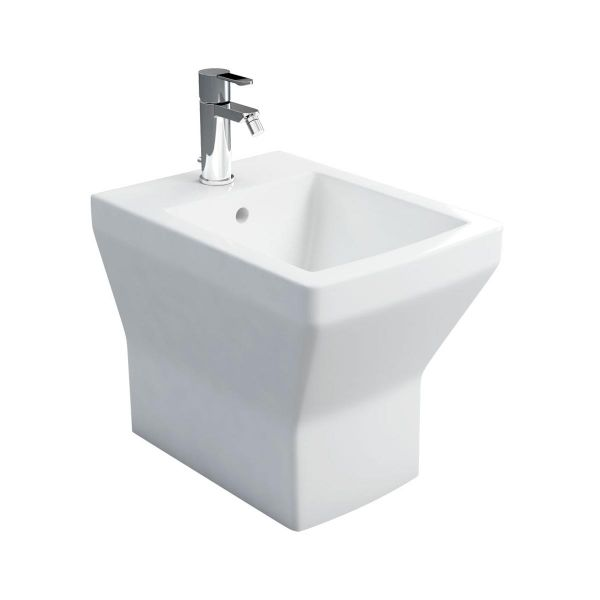 Britton Cube 1 Tap Hole Back To Wall Bidet 201953