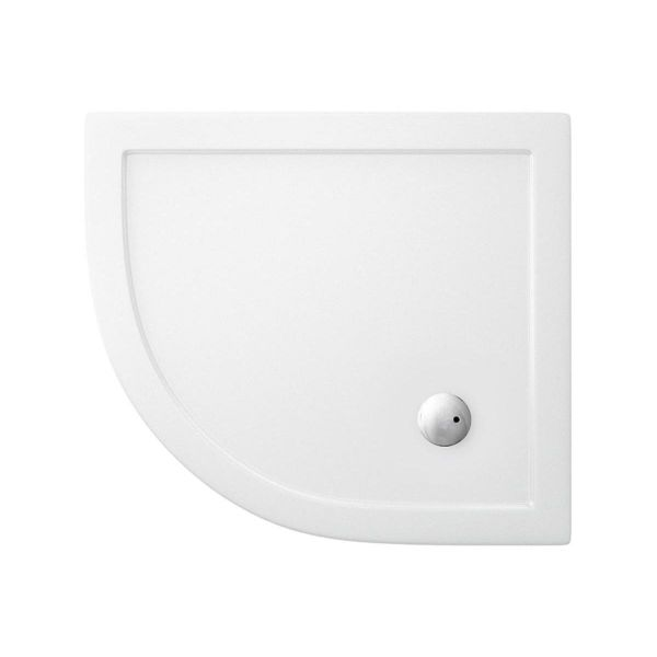 Britton Zamori 900 x 800 Left Hand Offset Quadrant Shower Tray Z1197