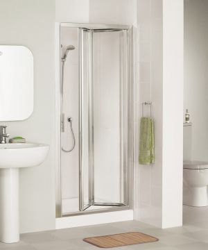 Lakes Classic Framed Bi Fold Shower Door 750mm