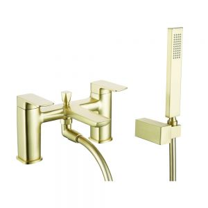 Bathrooms To Love Finissimo Brushed Brass Bath Shower Mixer Tap