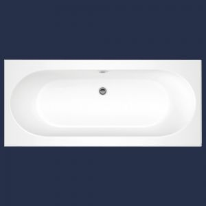 Moods Cascade Double Ended Bath with Wellness Spa System
